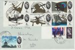 1965-09-13 Battle of Britain Shrivenham cds FDC (72926)
