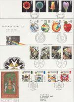 1987 Bulk Buy x8 FDC From 1987 (72978)