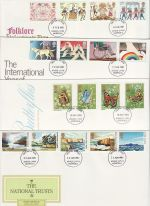 1981 Bulk Buy x7 FDC From 1981 Kings Lynn pmk (72985)