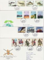 1983 Bulk Buy x7 FDC From 1983 Kings Lynn pmk (72987)