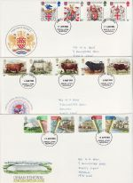 1984 Bulk Buy x9 FDC From 1984 Kings Lynn pmk (72988)