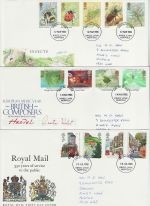 1985 Bulk Buy x6 FDC From 1985 Kings Lynn pmk (72989)