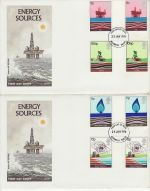 1978-01-25 Energy Gutter Stamps x2 Aylesbury FDC (73159)