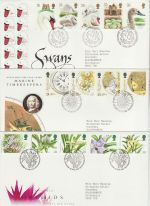 1993 Bulk Buy x9 First Day Covers With Bureau Pmks (73197)