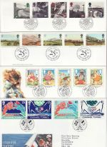 1994 Bulk Buy x7 First Day Covers With Bureau Pmks (73198)