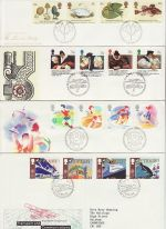 1988 Bulk Buy x8 FDC From 1988 Bureau Pmk (73200)