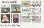 1977-11-23 Christmas Stamps Forces FPO 92 cds FDC (73211)