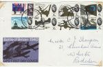 1965-09-13 Battle of Britain Stamps with faults FDC (73242)
