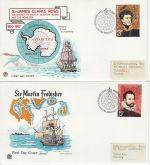 1972-02-16 British Polar Explorers London x4 FDC (73760)