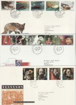 1992 Bulk Buy x9 First Day Covers With Special Pmks (73808)