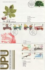 1974 Bulk Buy x6 First Day Covers with Bureau Pmks (73812)