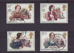 1980-07-09 Famous Authoresses Used Set (73982)