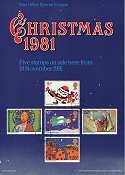 1981-11-18 Christmas Grille Card PL(P)2917 10/81 (7589)
