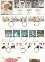 1998 Bulk Buy x8 Different from 1998 FDC (76504)