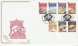 2007-07-17 Harry Potter Stamps London N1 FDC (78541)