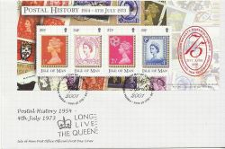 2001-04-18 IOM Postal History Queen's 75th FDC (84006)
