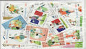 Worldwide x50 Football Theme Stamps in packet (J37)