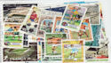 Worldwide x50 Football Theme Stamps in packet (J38)