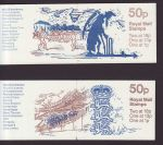 1987 FB39 1988 FB42 Cricket Booklet Stamps (66245)