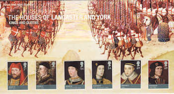 2008-02-28 Kings and Queens Stamps Presentation Pack (P409)