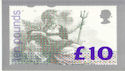 1993-03-02 Ten Pounds PHQ D1 Mint Card (phq081)
