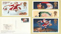 1997-10-27 Christmas PHQ 193 Stamps no Pmk (phq125)