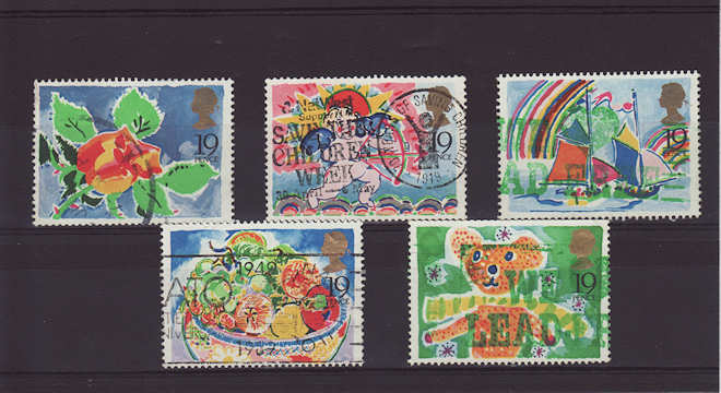 Greetings Stamps 1989
