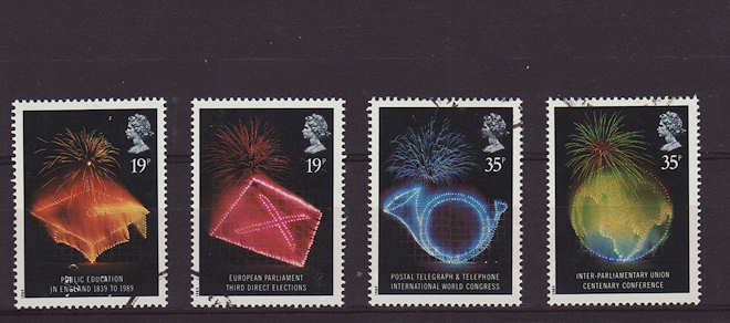 Anniversaries Stamps 1989