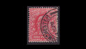 1902-13 KEVII SG219 1d red used (S2563)