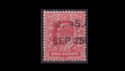 1902-13 KEVII SG219 1d Red used (S2567)