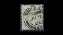 1902-13 KEVII SG217 ½d pale yellowish green used (S2572)
