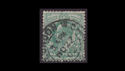 1902-13 KEVII SG215 ½d blue-green used (S2573)