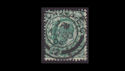 1902-13 KEVII SG215 ½d blue-green used (S2577)