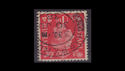 KGVI SG463wi 1d red Inverted Used (S2583)