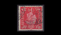 KGVI SG463wi 1d red Inverted Used (S2584)