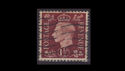 KGVI SG464 1½d Red Brown Used (S2591)
