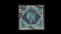 KGVI SG474 10d turquoise blue Used (S2624)