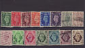 GB King George VI Used set 15 Stamps (S2714)