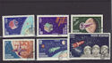 1965 Romania Space Navigation Stamps CTO (s2811)