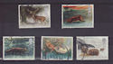 1992-01-14 Wintertime Stamps Used Set (S2939)
