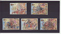 1989-10-17 Lord Mayor's Show Stamps Used Set (s2974)