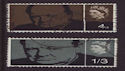 1965-07-08 SG661/2 Churchill Stamps Used Set (s3009)