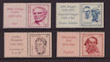 1970-11-16 Australia Famous People Stamp Set MNH (s3027)