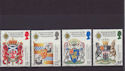 1987-07-21 SG1363/6 Scottish Heraldry Used Set