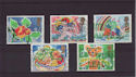 1989-01-31 SG1423/7 Greetings Stamps Used Set