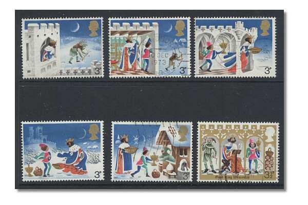 Christmas Stamps 1973