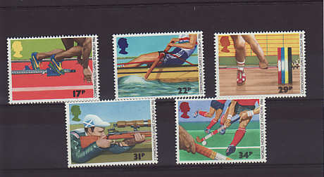 Commonwealth Games Stamps 1986