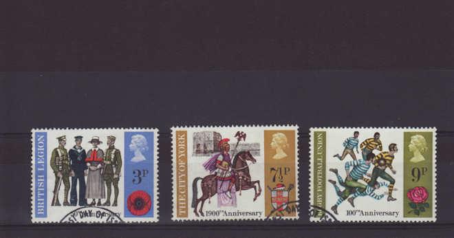 General Anniversaries Stamps 1971