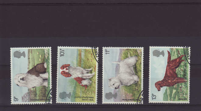 Dogs Stamps 1979