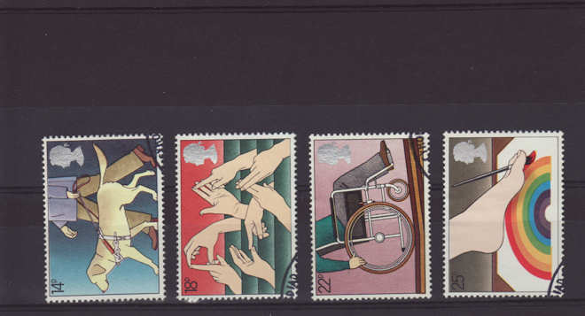 International Year of the Disabled Stamps 1981